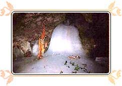 Shrines of Lord Shiva - Amarnath Cave