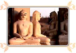 Sculptures in Jain Temple