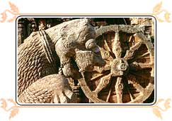 Stone Wheel on Sun Temple