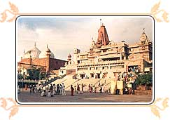 the birthplace of Lord Krishna, Mathura